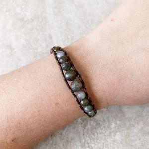 Chan Luu Labradorite Graduated Single Bracelet